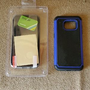 Set of 2 (two) Samsung Galaxy S7 phone cases NIB